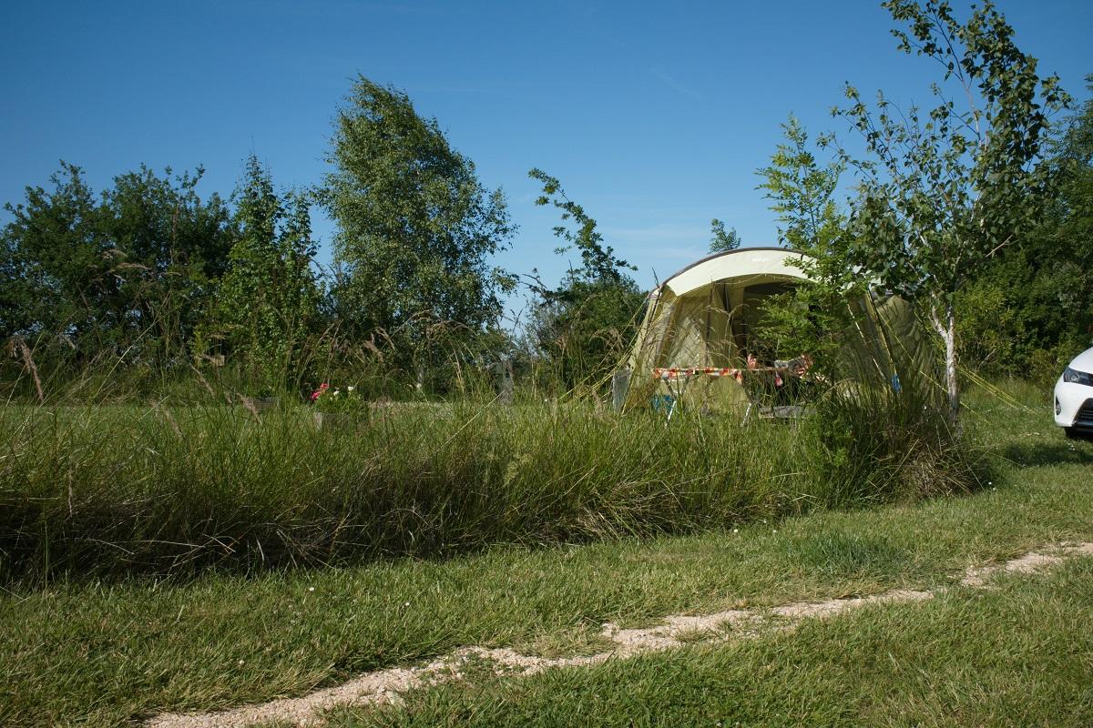 Tente au Camping Aux Mêmes